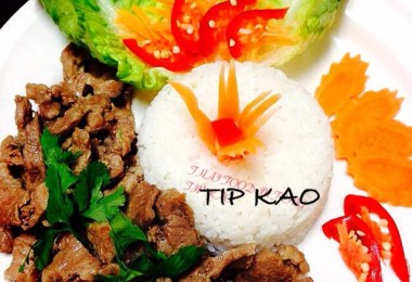 Tip Kao Now every Sunday, with a new menu too.